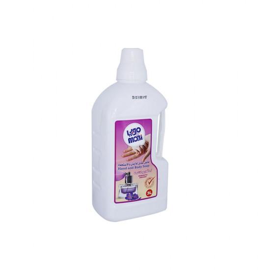 موبي صابون سائل لليدين والاستحمام رائحة احلام رومانسية   سعة 3 لتر