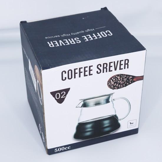 جك قزاز بغطاء بغطاء للقهوة 500ملي