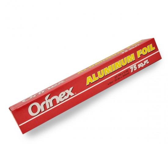 أورينكس ورق قصدير ألومنيوم 75 قدم
